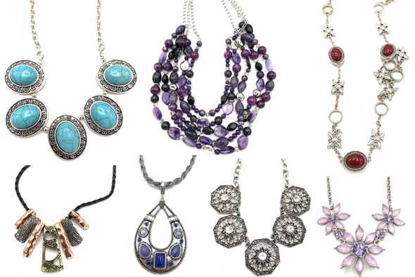 100 CHICO'S NECKLACES BEAUTIFUL ASSORTED STYLES