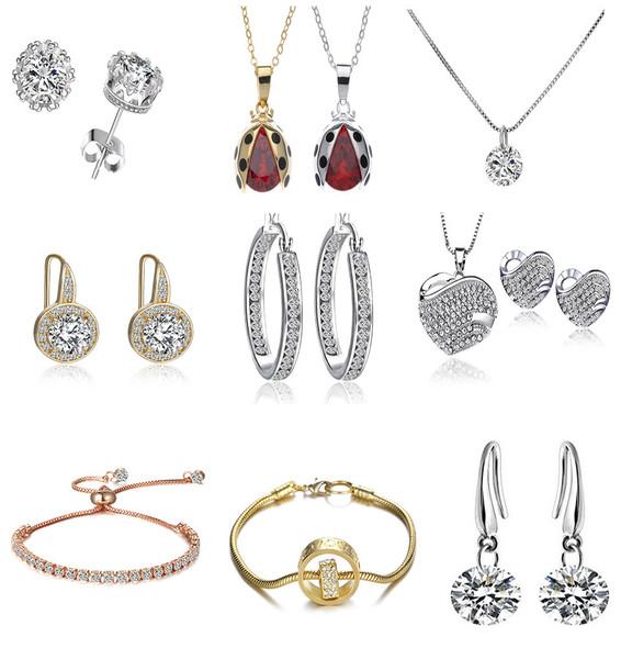 25 Pieces Asst Swarovski Elements Jewelry
