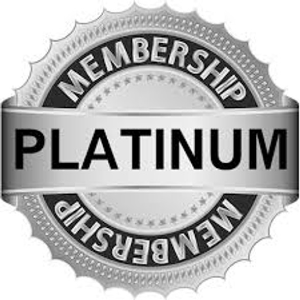 PLATINUM JEWELRY MEMBERSHIP  SAVE 15% off every order for life