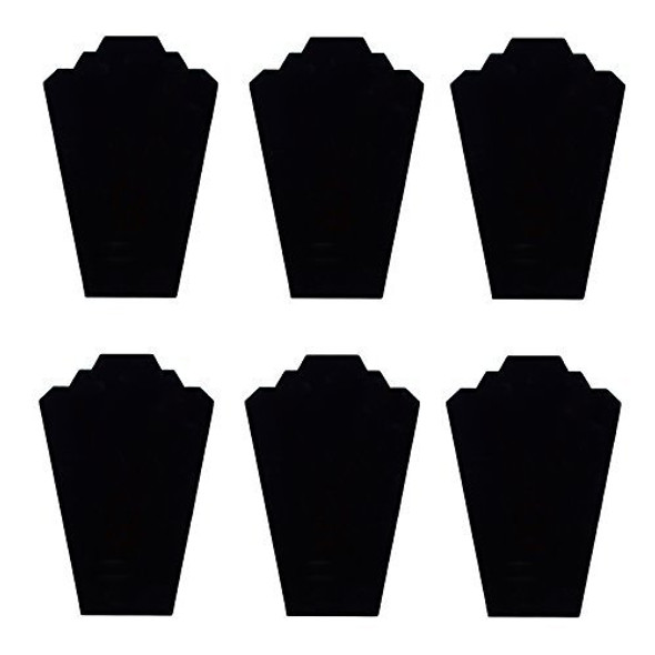 Black Velvet Necklace Jewelry Display Stand 12.5inches
