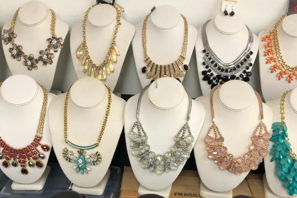 High End Boutique Statement Necks Retail priced @ $79.95 ea