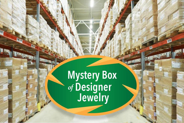 Exciting Mystery Box Of Designer Jewelry - $2,000.00 RETAIL