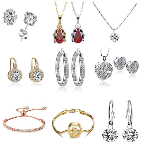 50 Pieces Asst Swarovski Elements Jewelry - Sale 3 days only!!