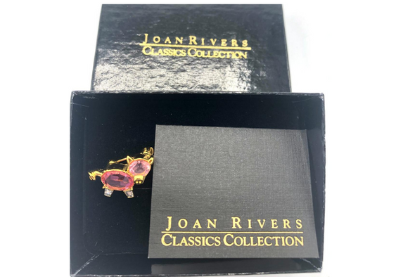 Joan Rivers Pig Pin boxed