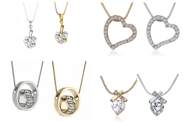 24 Assorted Necklaces best sellers Swarovski Elements Jewelry