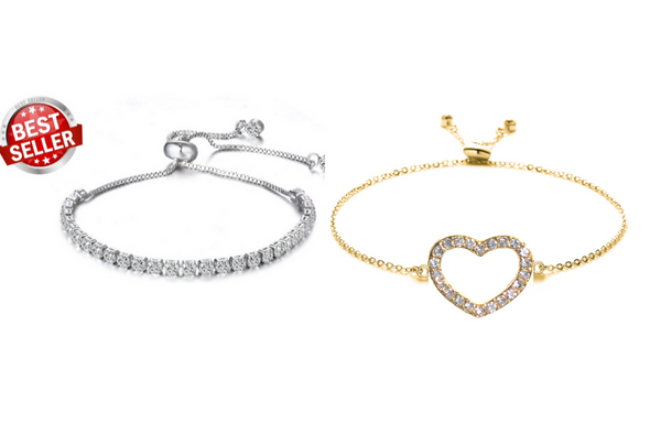 12 Bracelets Best Sellers of Swarovski Elements Jewelry