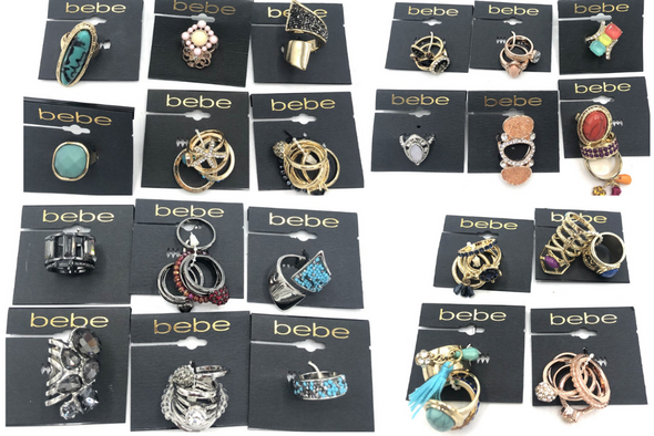 50 - Bebe Rings Assorted Hundreds of styles