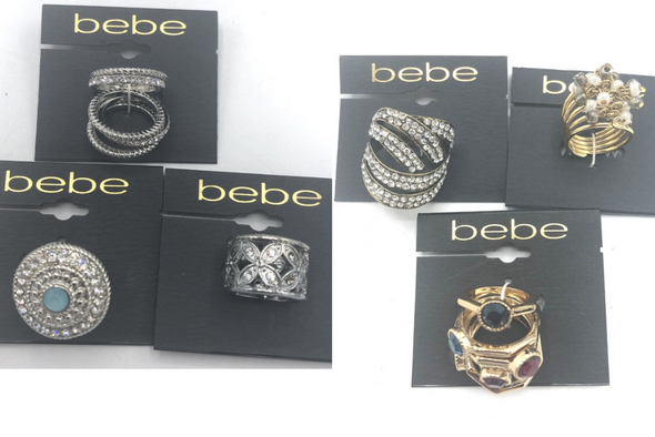100 - Bebe Rings Assorted Hundreds of styles