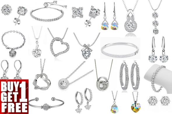 Buy One Get One Free! 100 pc Swarovski Jewelry Sale 3 days only !