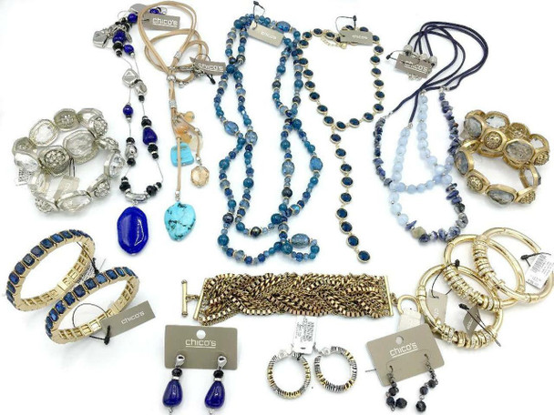 1,000 PIECE Jewelry Lot - The Limited, Guess, Minicci, Kelly + Katie & More