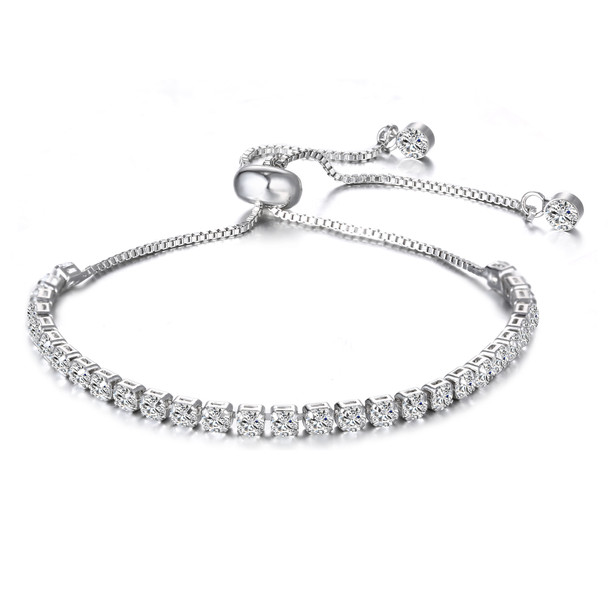 Tennis Slider  Bracelets made with Swarovski Elements - #1 BEST SELLER