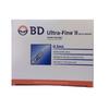BD Ultra-Fine 31G Insulin Syringes 0.5ml 100IU/ml 328821 (100 pack)