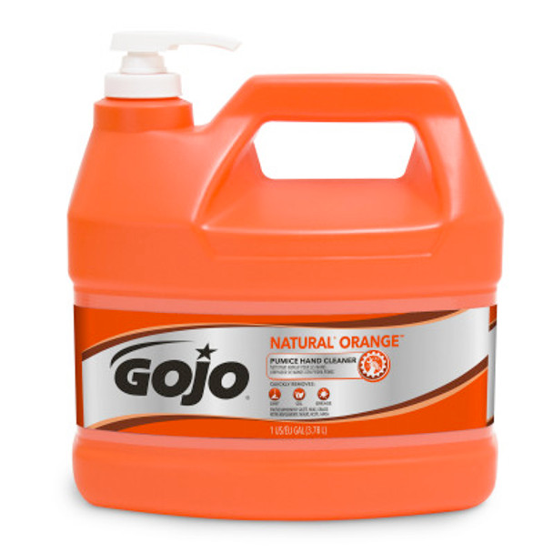 GOJO Natural Orange Pumice 1 Gal Hand Cleaner (2 per case)