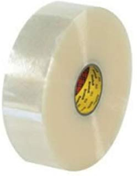 3M 371 48mm x 914m Clear Carton Sealing Tape 6 Rolls/CS