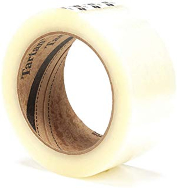 3M 369 48mm x 100m Clear Carton Sealing Tape 36 Rolls/CS