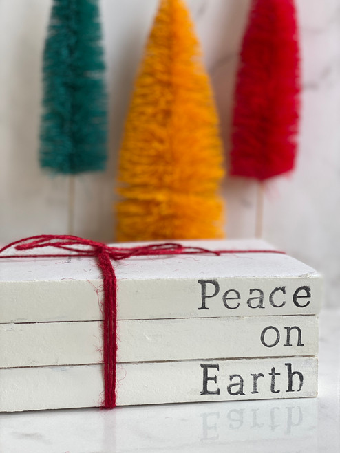 Peace on Earth Book Stack