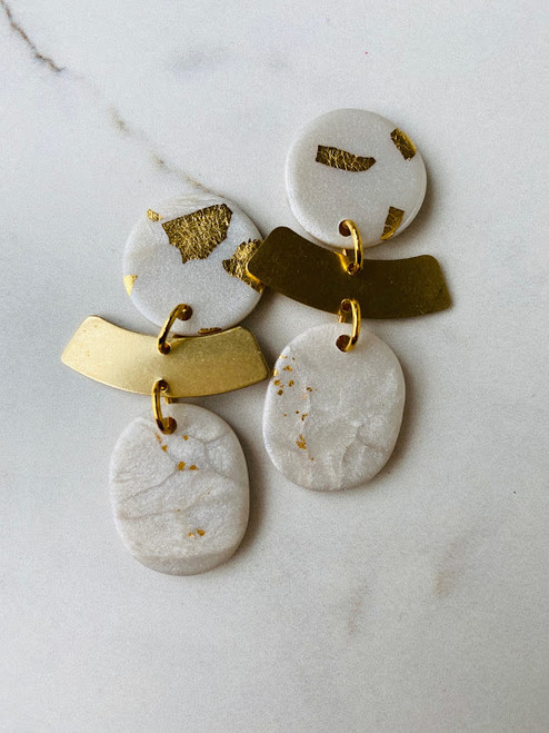 Blanche in Pearl & Gold Leaf