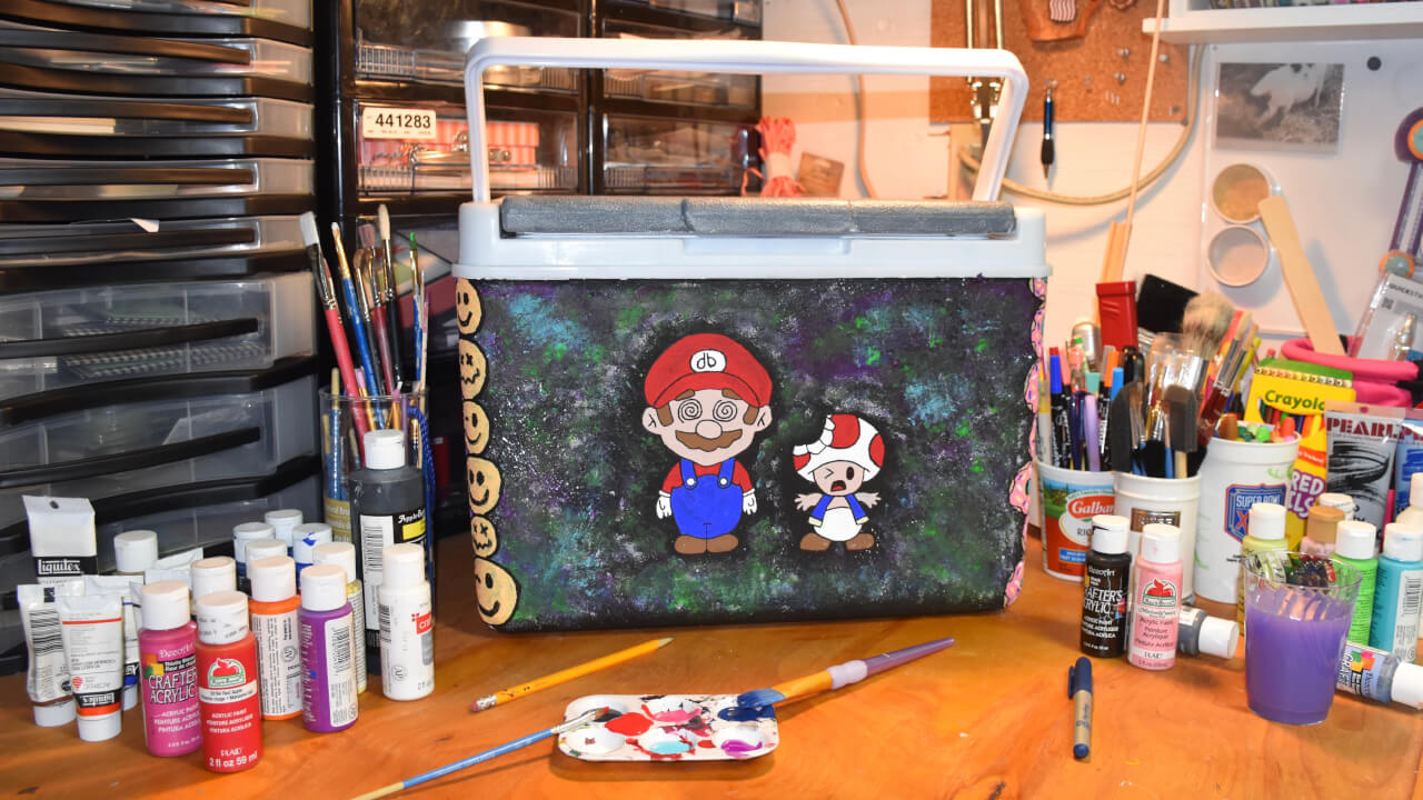 aeaf81a3d Painted Fraternity Cooler Examples | COOLERSbyU