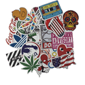 coolersbyu now sells stickers! Buy customized and stock vinyl stickers to decorate coolers, laptops, phones and water bottles.
