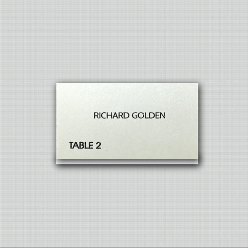 Clare Lee Place Cards