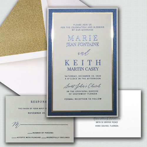 Marie Wedding Invitations