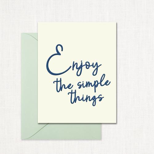 The Simple Things Greeting Card wholesale wedding planner affiliate program leslie store