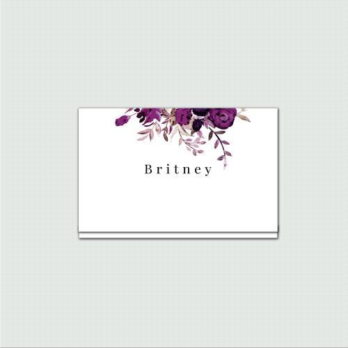 Briana Place Cards wholesale wedding planner affiliate program leslie store