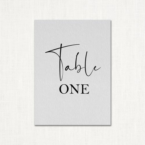 Anjeline Table Numbers wholesale wedding planner affiliate program leslie store