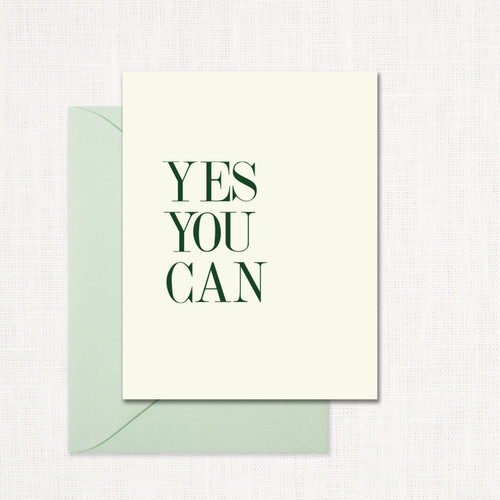 Yes, You Can Greeting Card wholesale wedding planner affiliate program leslie store