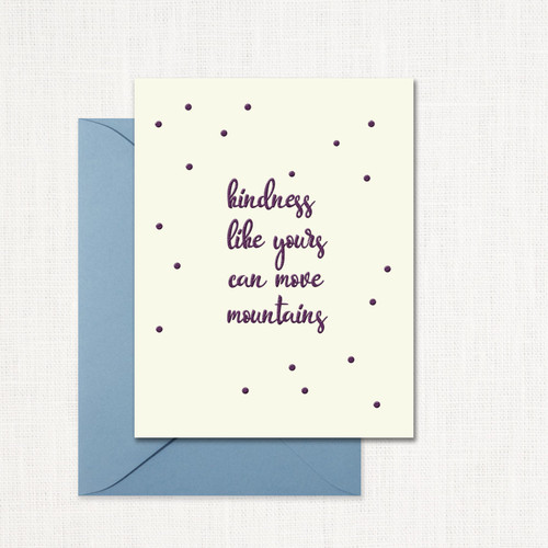 Move Mountains Greeting Card wholesale wedding planner affiliate program leslie store