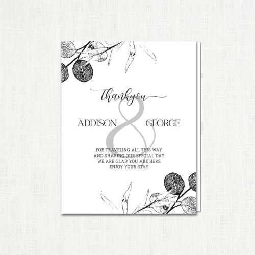 Addison Thank You Cards