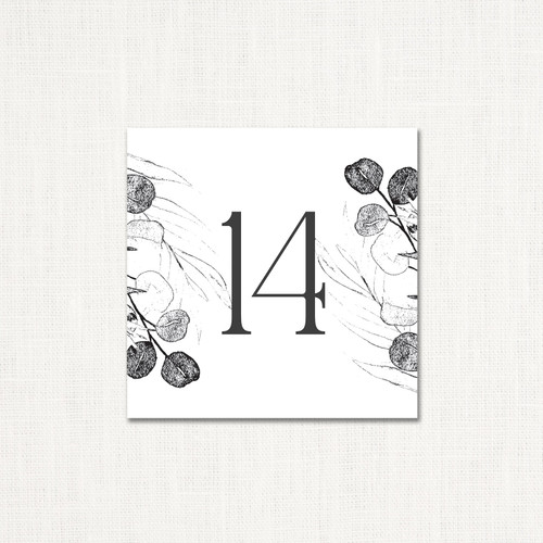 Addison Table Numbers