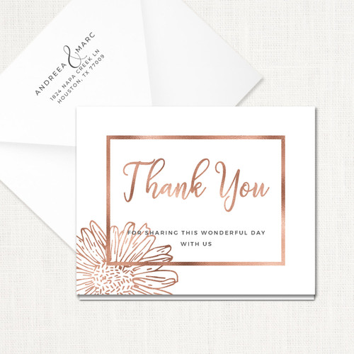Andreea Thank You Cards wholesale affiliate program wedding planner leslie store