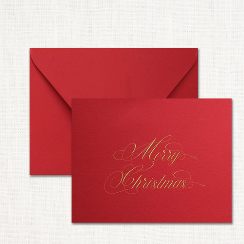 Traditional Merry Christmas Note Set wholesale wedding planner affiliate program leslie store