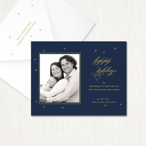 Bright Holidays Card wholesale wedding planner affiliate program leslie store