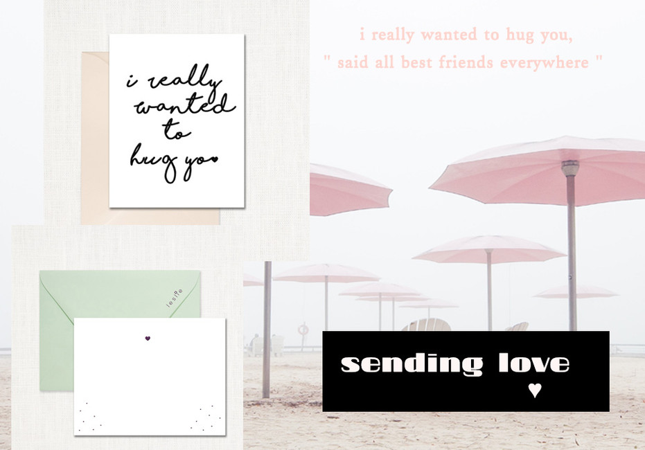 There are many ways to send love in the mail... Make their day, send a card!