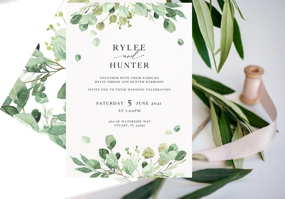 It's all in the details.... fresh wedding invitations. Open immediately!