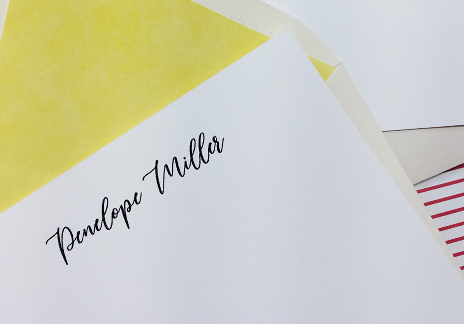 All-New Custom Stationery - made just for you