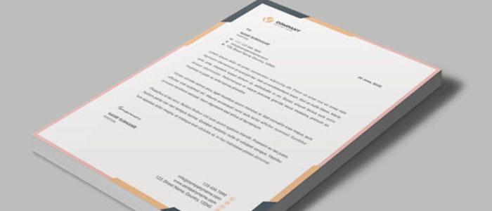 letterhead print