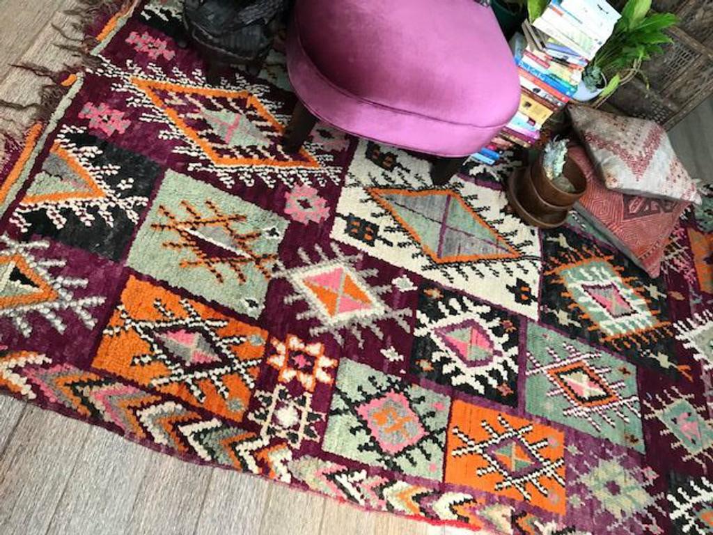 Goddess Rheia Vintage Boujaad Rug