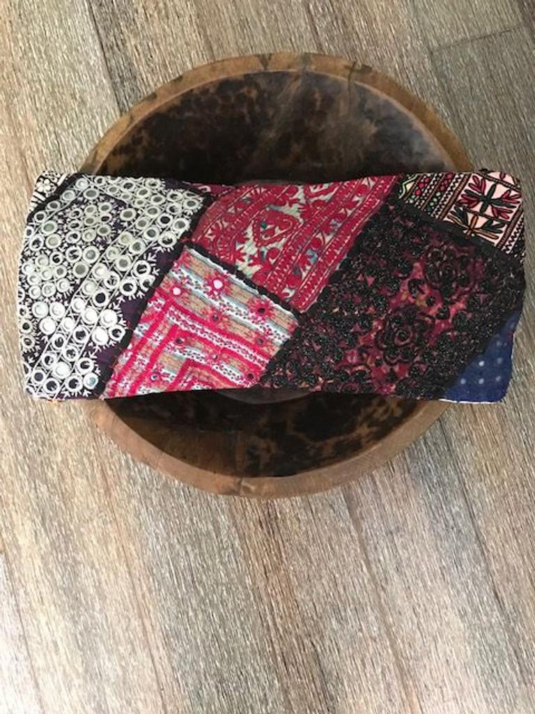 Hand Made Vintage Banjara Cushion 14