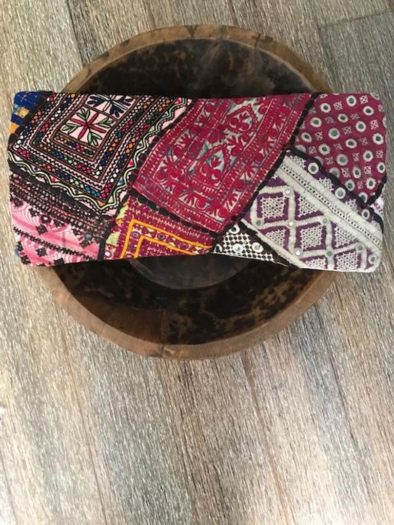 Hand Made Vintage Banjara Cushion 18