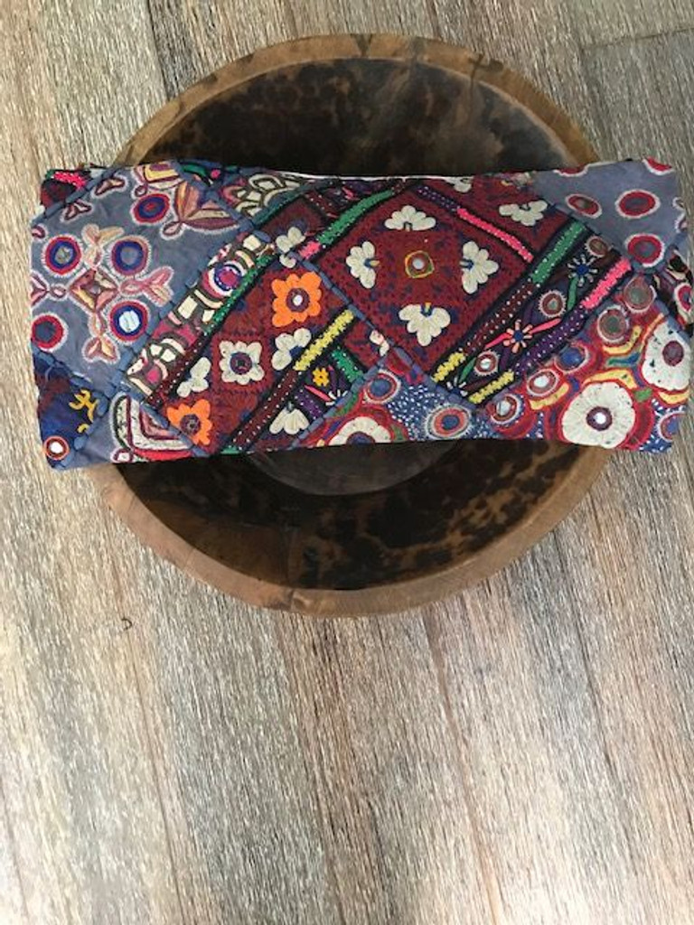 Hand Made Vintage Banjara Cushion 21