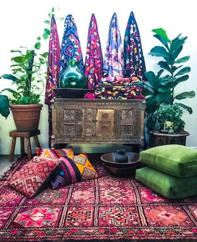 Goddess Hestia Vintage Boujaad Rug
