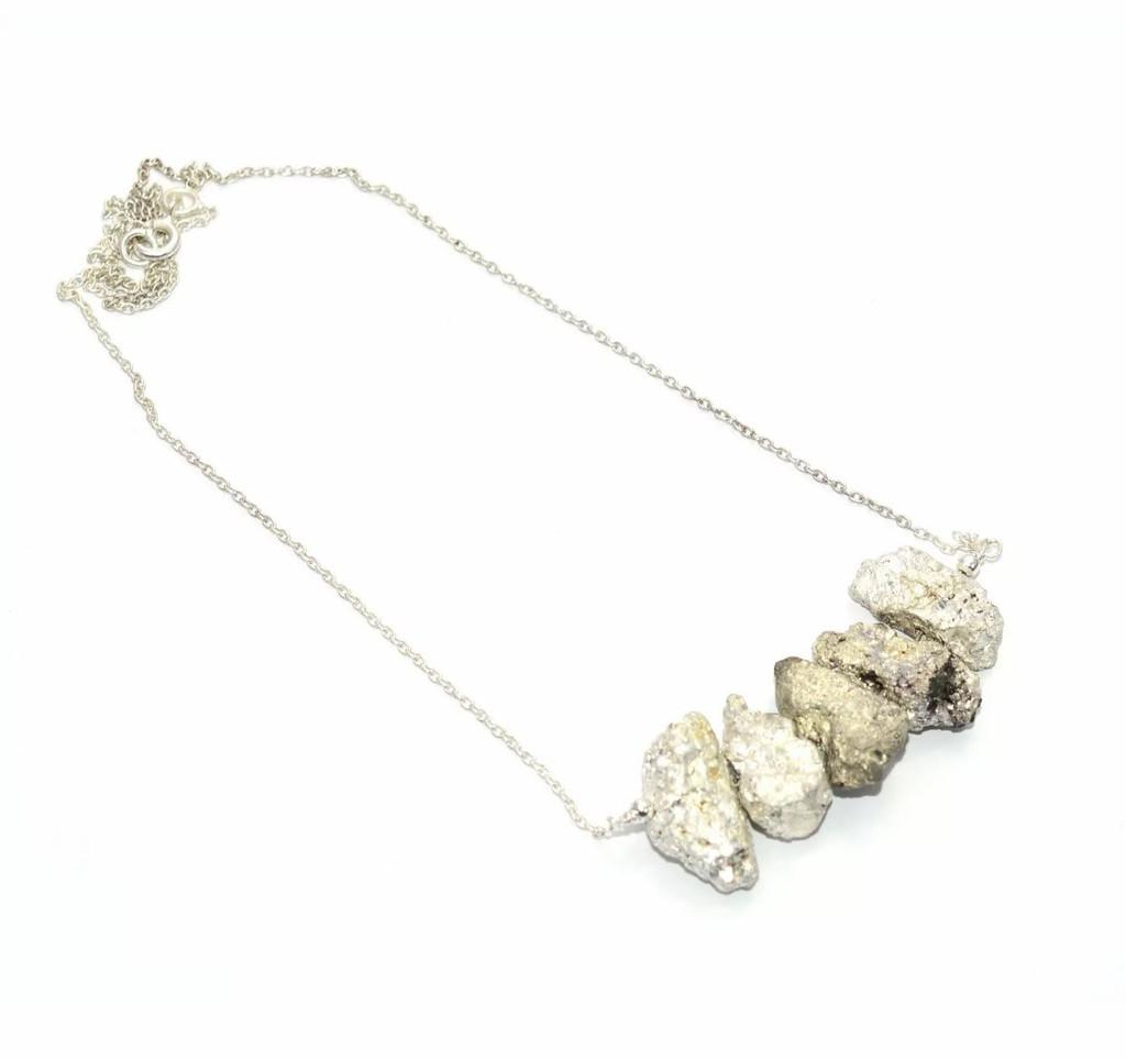PRE-ORDER Pyrite Necklace