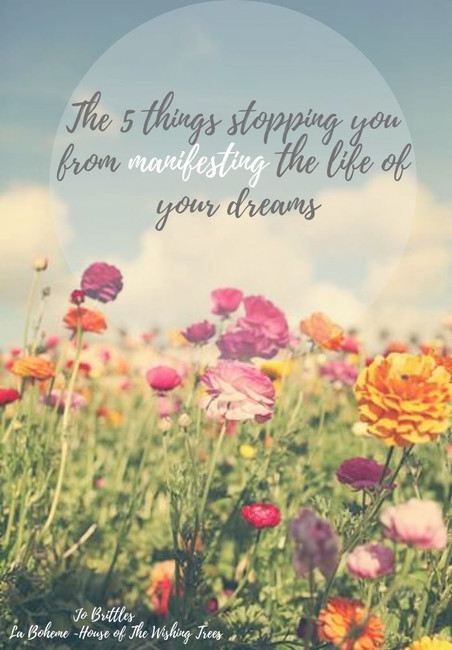The 5 Things Keeping You From Manifesting The Life of Your Dreams!