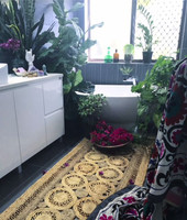 jute rug runner handmade