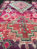 Goddess Tyche Vintage Boujaad Rug