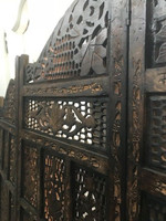 Antique Hand Carved Jakarta Screen