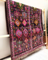 Goddess Gaia Vintage Moroccan Boujaad Rug